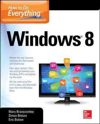 How to Do Everything Windows 8 By Butow, Eric